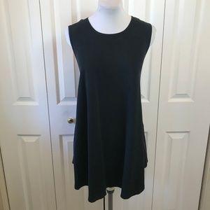 Brandy Melville Black A-Line Tent Sleeveless Dress